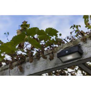 Lutec Applique murale solaire Arrow avec LED, détecteur