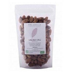 Sol Semilla Cacao cru fèves 250g