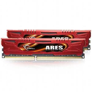 G.Skill F3-1600C9D-16GAR - Barrettes mémoire Ares 2 x 8 Go DDR3 1600 MHz CL9 240 broches