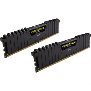 Corsair CMK8GX4M2A2666C16 - Barrette mémoire Vengeance LPX 8 Go (2x 4 Go) DDR4 2666 MHz CL16