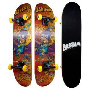 Ertedis Skateboard hologramme Bart Simpsons