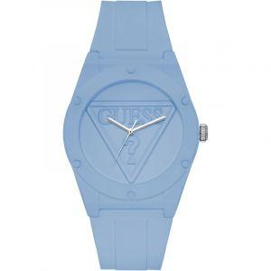 Guess Montre W0979L6 - Montre Bracelet Silicone Bleu Mixte
