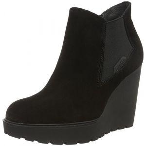 Calvin Klein Jeans Sydney, Botte compensée femme, Noir (Blk), 41 EU