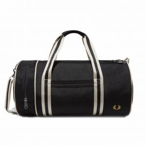 Fred Perry Sac de voyage Twin Tipped en toile noire