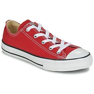 Converse Chuck Taylor All Star Core Ox - Sneakers Basses - Mixte Enfant - Rouge (Red) - 35 EU