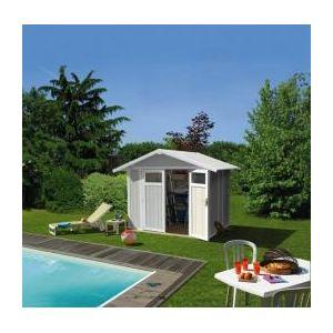 Grosfillex Utility 4,9 - Abri de jardin en PVC 4,5 m2