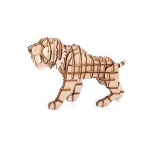 Kikkerland Puzzle 3D en bois Tigre