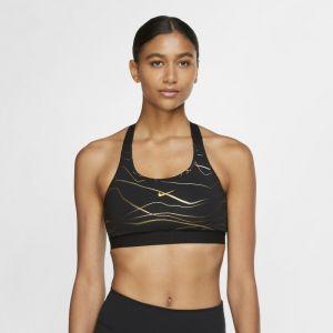 Nike Brassière de sport à imprimé et maintien normal Swoosh Icon Clash pour Femme - Noir - Taille S - Female