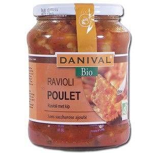 Danival Raviolis au poulet d'origine française 670 g