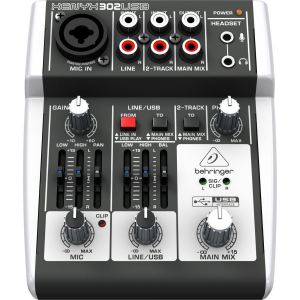 Behringer Xenyx 302USB - Table de mixage