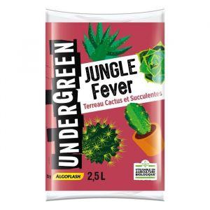 Undergreen Terreau Jungle Fever - Cactus et succulentes - 2,5 L