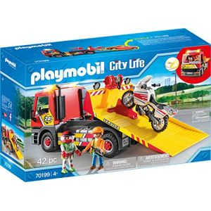 Playmobil 70199 Camion de depannage City Life Rose