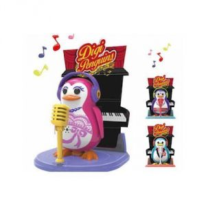Silverlit Robot pingouin interactif avec scène de musique