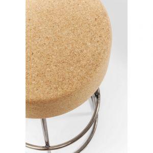 Kare Design Tabouret de bar liége et acier CORK
