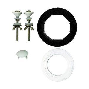 TYC Mécanisme WC compact ''MX'' à tirette (ensemble avec joint et vis de fixation)