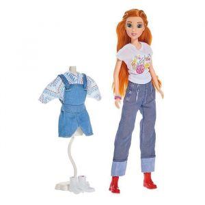 Simba Toys Poupée Maggie et accessoires chantante Maggie et Bianca 29 cm