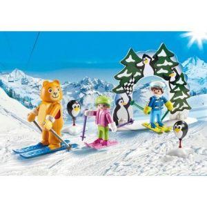 Image de Playmobil 9282 - Family Fun : Moniteur de ski avec enfants