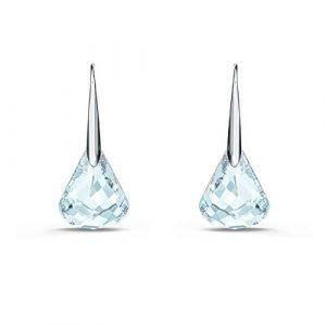 Swarovski Boucles D'oreilles 5529138 - Boucles d'oreilles métal blanc cristal transparent Femme