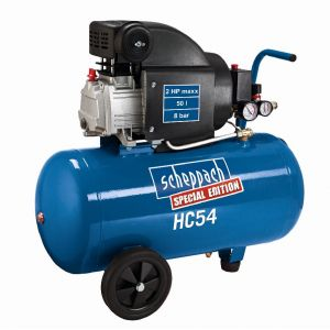 Scheppach HC54 - Compresseur lubrifié 50L 8 bar 1500W