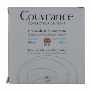 Couvrance Crème de teint Fini Mat Beige 2.5 10 g