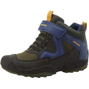 Geox Boots enfant J841WA 011BC J SAVAGE vert - Taille 27