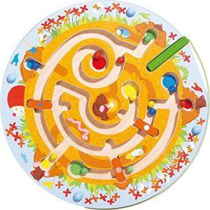 Haba Jeu magnétique Labyrinthe taupinière