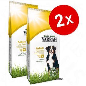Yarrah Bio Croquettes Senior au poulet et poisson avec herbes pour chien 10 kg