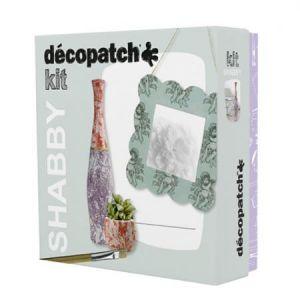 decopatch Kit Shabby - papier mâché