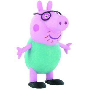 Yolanda Mini figurine Peppa Pig : Daddy Pig