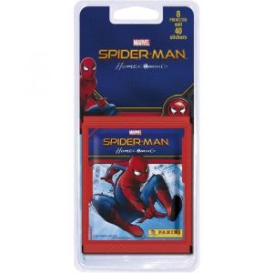 Panini Spider-Man Homecoming - Stickers - Blister 8 Pochettes