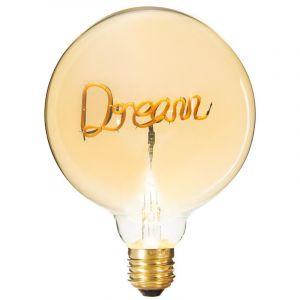 """Atmosphera Ampoule Décorative à Filament """"Dream"""" 17cm Ambre"""