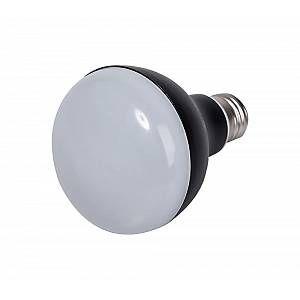 Ampoule LED aluminium R80 E27 - Noir - 9 W équivalence incandescence 60 W, 700 lm - 4 000 K