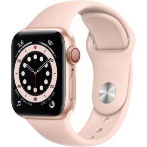 Apple Watch 40MM Alu Or/Rose Series 6 Cellular - Montre connectée