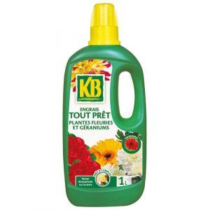 KB Engrais tout prêt plantes fleuries 1L