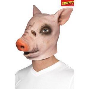 Smiffy's Masque tête de cochon en latex