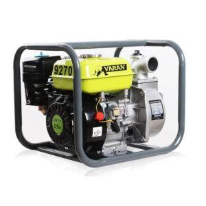 Varan Motors Motors - 92700 Pompe à eau thermique Motopompe essence 2'' 36m³/h 6.5CV - Gris