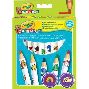 Crayola 8 maxi cayons de couleur