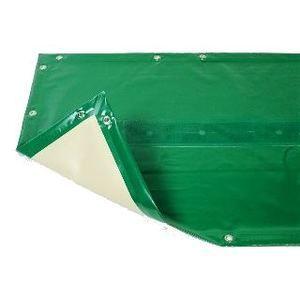 Bâche hiver Luxe verte compatible piscine Ness diam 4.60m