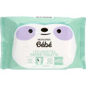 Monoprix Les Lingettes Papier Toilette - Bébé