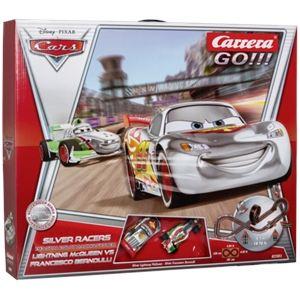 Carrera Toys Go!!! 62301 - Circuit de voitures Silver Racers Disney Pixar Cars