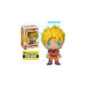 Funko Figurine Pop! Dragon Ball Z : Son Goku Super Saiyan 10 cm