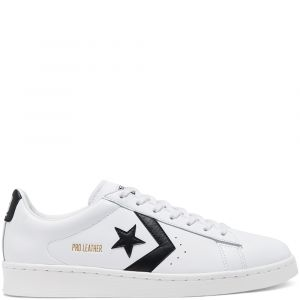 Converse Pro Leather Ox Sneaker Unisex Leather White Black 38.5