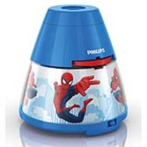 Philips 71769/40/16 - Veilleuse projecteur Spiderman