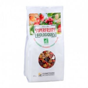 Comptoirs et Compagnies Mix de superfruits Bio 400g