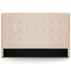 Menzzo Tête de lit capitonnée Luxor XL (180 x 122 cm)