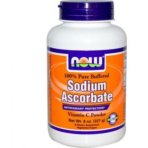 Now Foods Ascorbate de Sodium poudre (227 g)