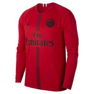 Nike Maillot de football à manches longues 2018/19 Paris Saint-Germain Stadium Goalkeeper pour Homme - Rouge - Taille XL