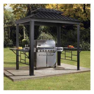 Tonnelle barbecue Messina 5,23 m² SOJAG