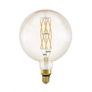 Eglo LM_LED_E27 Ampoule Plastique 8 W Transparent 40,3 x 14 cm, Plastique, Weiß, Ø 29 cm Höhe 20 cm