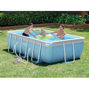 Intex 28314 - Piscine tubulaire rectangulaire 3,00 x 1,75 x 0,80 m